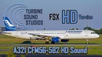 Airbus 321 CFM56-5-B2 Soundpack for FSX