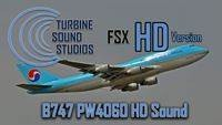 TSS Boeing 747 PW HD Edition Soundpack
