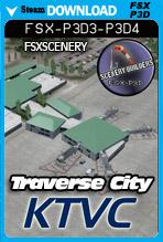 Traverse City Airport - KTVC (FSX/FSX:SE/P3Dv1-v4)