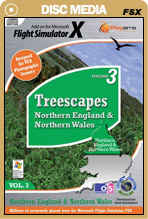 Treescapes Volume 3 - Northern England & Nth Wales for FSX
