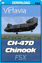 CH-47D Chinook For FSX