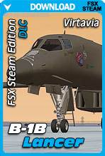 Virtavia B-1B Lancer for FSX Steam Edition (DLC Expansion)
