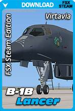 Virtavia B-1B Lancer for FSX Steam Edition (Base Package)