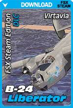 Virtavia B-24 Liberator for FSX Steam Edition (DLC Expansion)