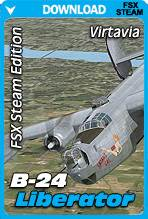 Virtavia B-24 Liberator for FSX Steam Edition (Base Package)