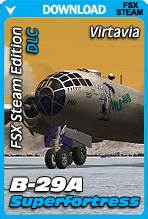 Virtavia B-29 Superfortress for FSX Steam Edition (DLC Expansion)