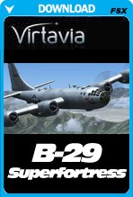 Virtavia B-29 Superfortress (FSX)
