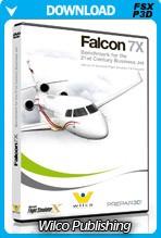 Wilco Falcon 7X (FSX/FSX:SE/P3D)