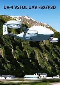 UV-4 UAV (FSX/P3D)