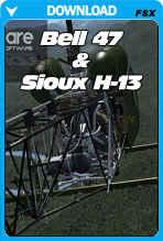 Bell 47G & Sioux H-13 (FSX+P3D)