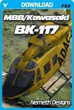 MBB/Kawasaki BK-117 (FSX/FSX:SE/P3Dv4)