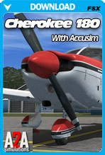 A2A Simulations Piper Cherokee 180 + Accusim
