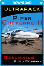 REALFLYING - Ultrapack Piper Cheyenne II (Video)