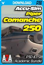 Accu-Sim Comanche 250 for FSX & P3D Academic Bundle