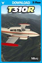 Milviz T310 (X-Plane 11)