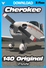 Piper Cherokee 140 Original for XPlane