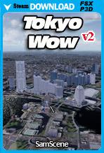 SamScene - Tokyo Wow City Pro v2 (FSX/FSX:SE/P3Dv4)