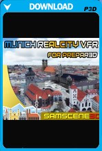 SamScene - Munich RealCity VFR for P3D