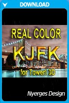 Real Color KJFK for Tower!3D