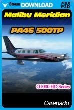 Carenado PA46 500TP Malibu Meridian G1000 HD Series (FSX/FSX:SE/P3D)