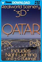 Real World Scenery: Qatar 3D 2017