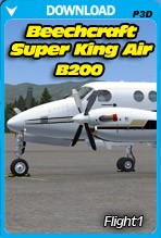 Beechcraft Super King Air B200 (P3D)