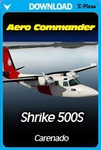 Carenado - 500S Shrike Aero Commander HD Series (X-PLANE)