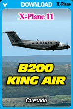 Carenado B200 KING AIR for X-Plane 11