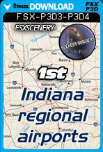 1st Indiana Regional Airports Pack