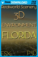 RealWorld Scenery - Florida 3D Environment 2017
