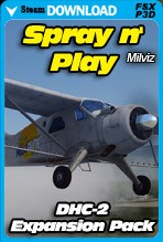 MilViz DHC-2 Spray n' Play Expansion Pack