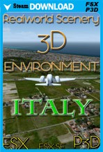 RealWorld Scenery - Italy 3D Environment 2017