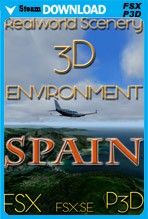 RealWorld Scenery - Spain 3D Environment 2017