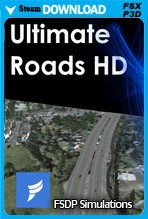 Ultimate Roads HD (FSX/FSX:SE/P3Dv1-v4)