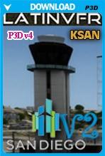 San Diego International Airport v2 (KSAN) - P3D v4