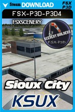 Sioux City Airport - KSUX (FSX/FSX:SE/P3Dv3,v4)