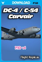 DC-4/C-54 Skymaster / Aviation Traders ATL98 Carvair (P3D v4)