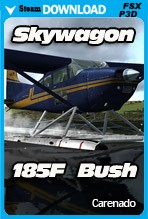 Carenado C185F SKYWAGON BUSH (FSX/FSX:SE/P3Dv2-v4)