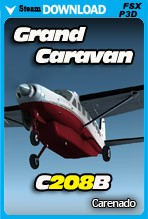 Carenado C208B GRAND CARAVAN HD SERIES (FSX/FSX:SE/P3Dv2-v4)