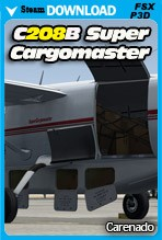 Carenado C208B SUPER CARGOMASTER EXPANSION PACK HD SERIES (FSX/FSX:SE/P3Dv2-v4)