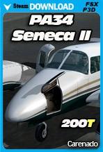 Carenado PA34 200T SENECA II (FSX/FSX:SE/P3Dv2-v4)