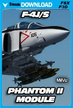 F-4J/S Phantom II Module - Advanced Series (FSX/FSX:SE/P3Dv3,v4)