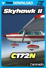 Carenado C172N Skyhawk II (FSX/FSX:SE/P3Dv2-v4)