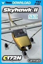 Carenado C172N Skyhawk II Ski (FSX/FSX:SE/P3Dv2-v4)