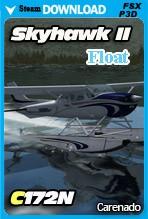 Carenado C172N Skyhawk II Float (FSX/FSX:SE/P3Dv2-v4)