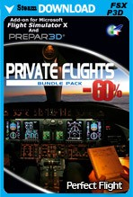 Private Flights Super Bundle (FSX/FSX:SE/P3Dv2-v4)