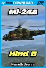 Mil Mi-24A Hind B (FSX/FSX:SE/P3Dv4)
