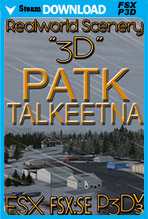 Talkeetna (PATK) Alaska Airport (FSX/FSX:SE/P3Dv3)