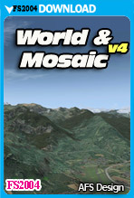 World & Mosaic v4 for (FS2004)