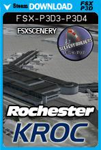 Greater Rochester Airport KROC (FSX/FSX:SE/P3Dv3-v4)